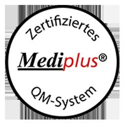 Mediplus Zertifikat